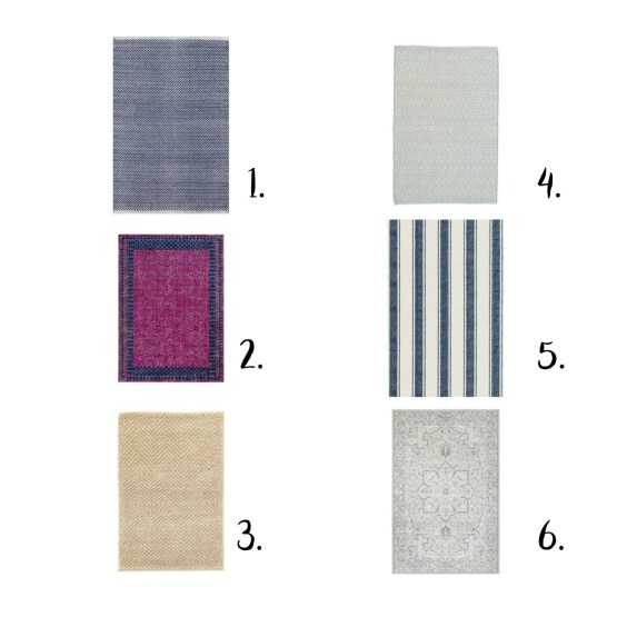 Home decor. home decor ideas. rug ideas. dash and albert, coastal rugs, vintage rugs,