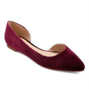 Friday Favorites, Womens Velvet Flats