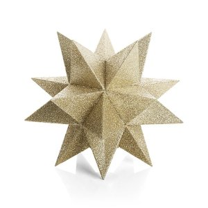 Top Christmas Decor Ideas. Christmas Tree topper, Gold Tree Topper
