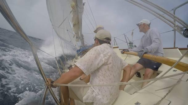 Rounding Punta Estes
