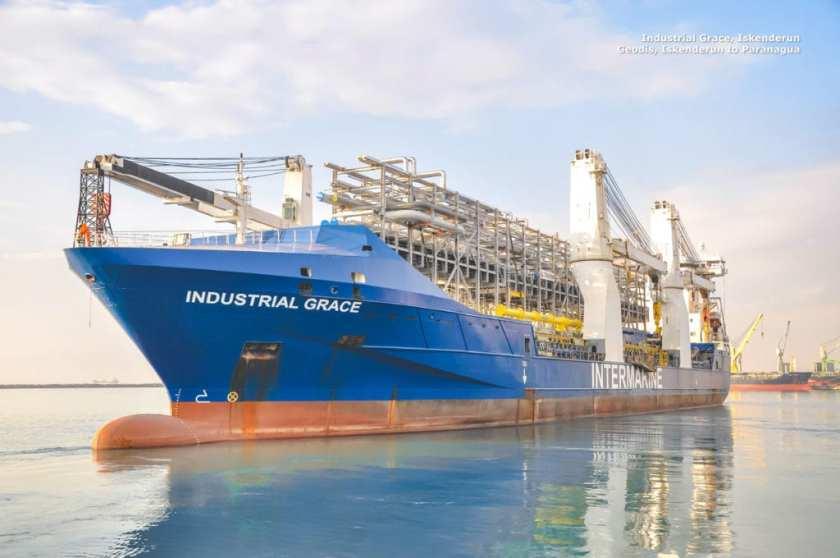 Industrial Grace, Iskenderun Geodis, Iskenderun to Paranagua