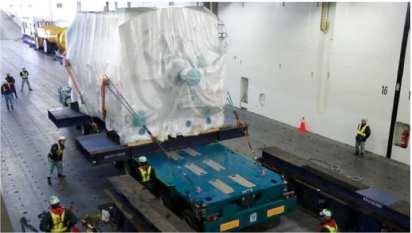 Power Generators - 242mt each - Japan to USA