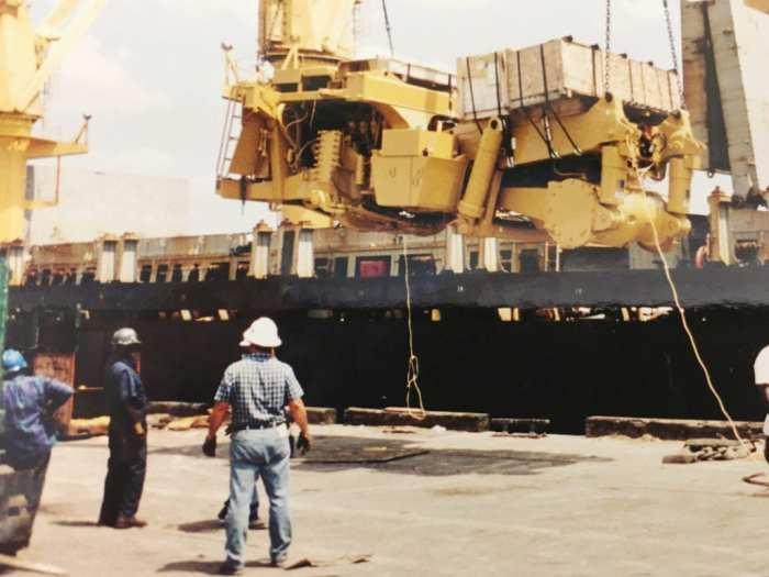 Mining equipment for Mongolia