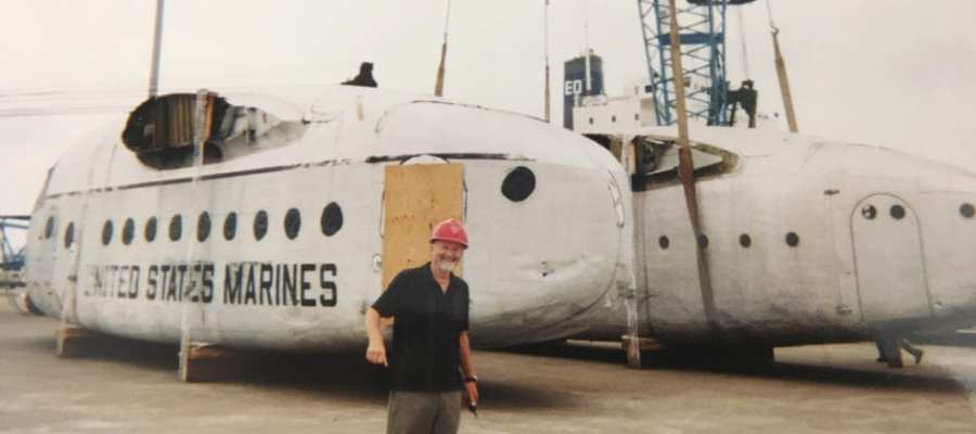 Planes for film production in Namibia