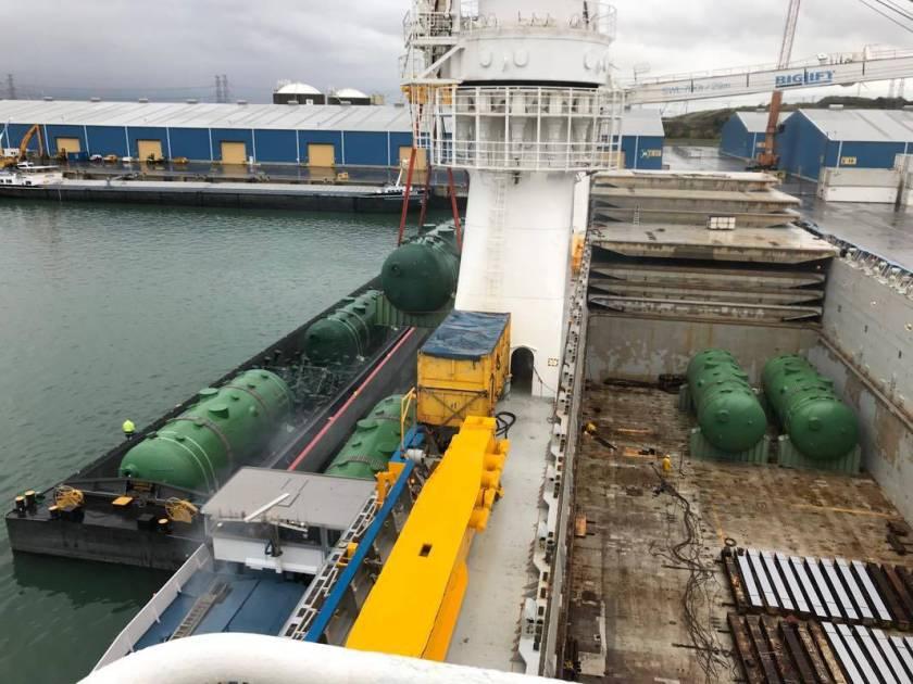 Vlissingen Transshipment Barge