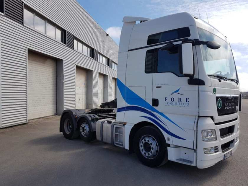 Fore Logistics Cargo Truck
