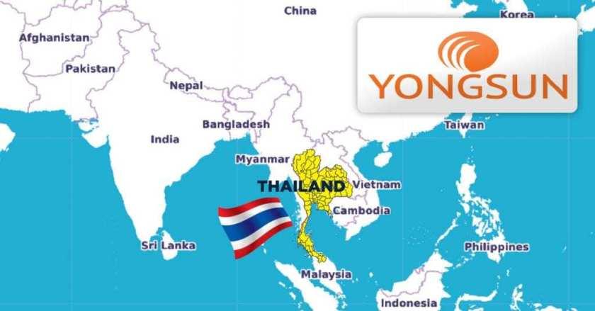 Yongsun-Global-Freight-Thailand