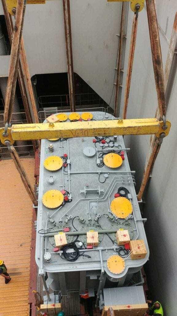 105 ton transformer