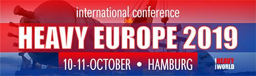 International Conference Heavy Europe 2019 10-11 October Hamburg