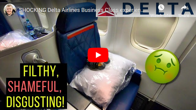 Shocking Delta Airlines Business Class Experience