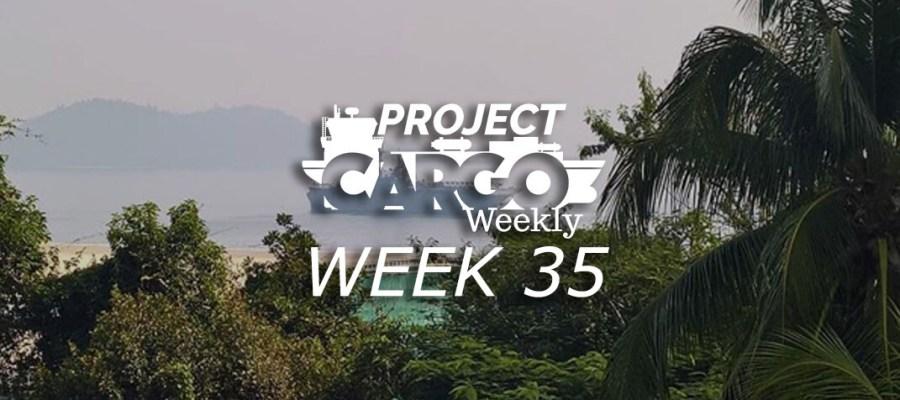 Project Cargo Weekly Week 35 2018