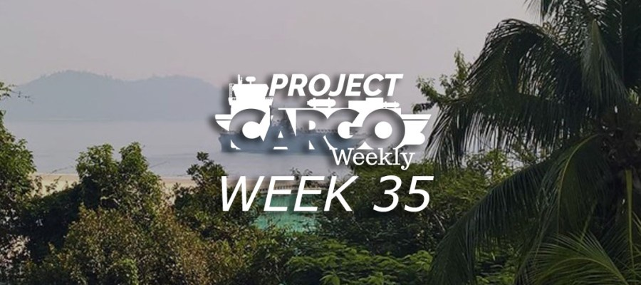 Project Cargo Weekly Week 35 2018