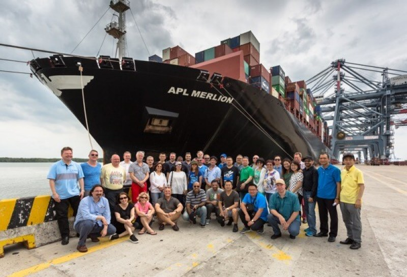 A global network of project forwarders (CLC Projects) meeting recently at the Port of Vungtau, Vietnam