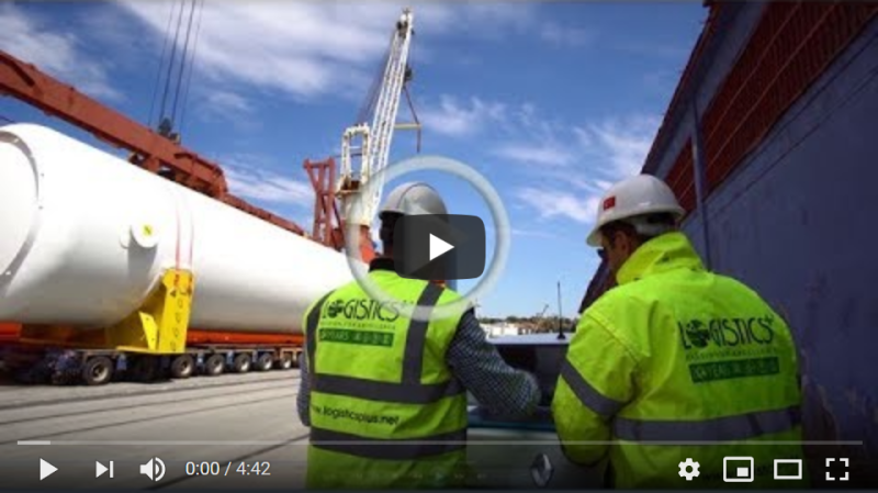 Logistics Plus Inc. - Loads Cryogenic Gas Tank from Turkey to Norway