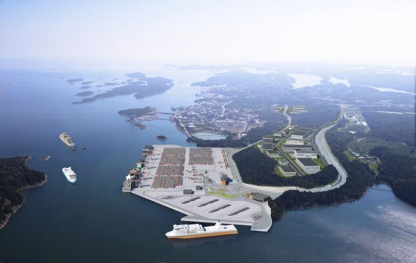 Port of Norvik, Stockholm
