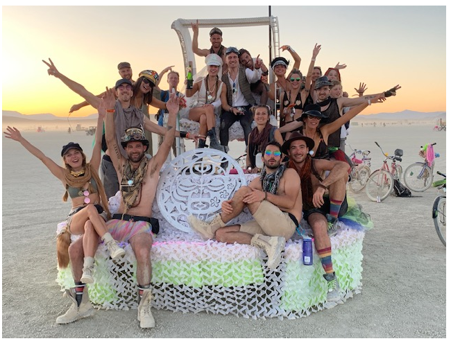 Burning Man MATTHIEU BOINEL