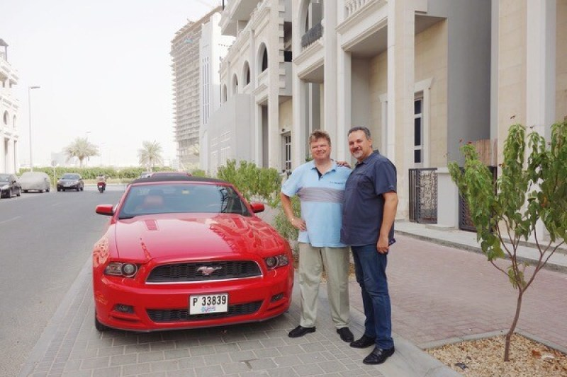 When in Jebel Ali I met with a local contact Mr. Ghassan of Gamma5 Logistics.