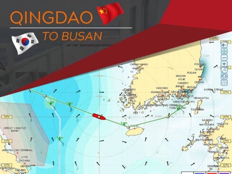 Qingdao to Busan