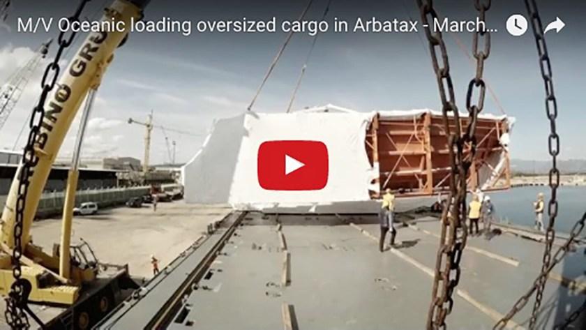 Oceaning loading OS Cargo