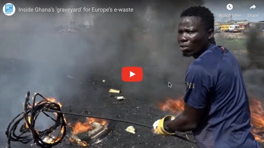 Ghanas E-Waste Graveyard video