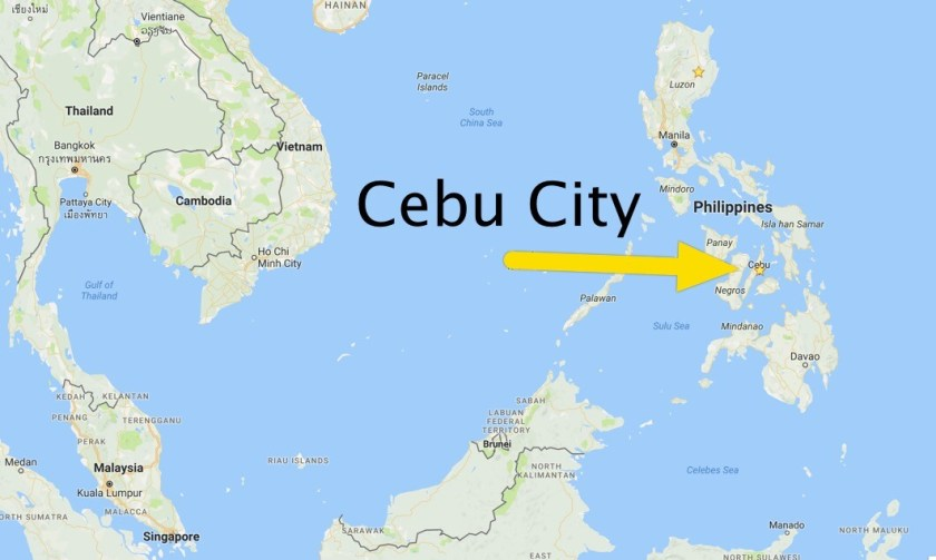 Cebu City on the Map