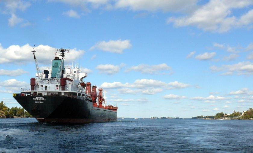 The Great Lakes St. Lawrence Seaway System Photo two