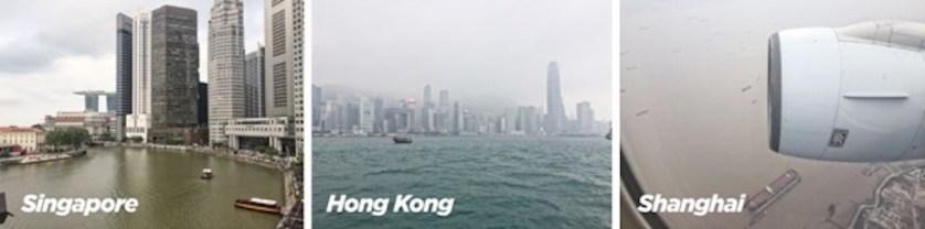 Singapore Hong Kong Shanghai