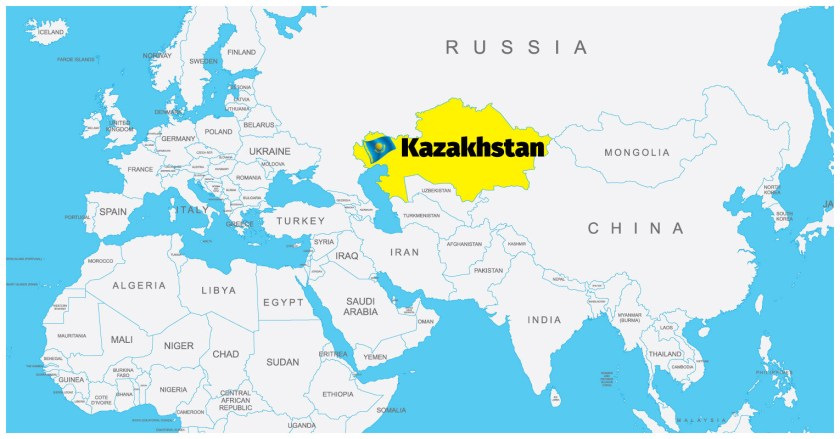 Kazakhstan Map