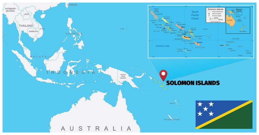 Solomon-Islands Map