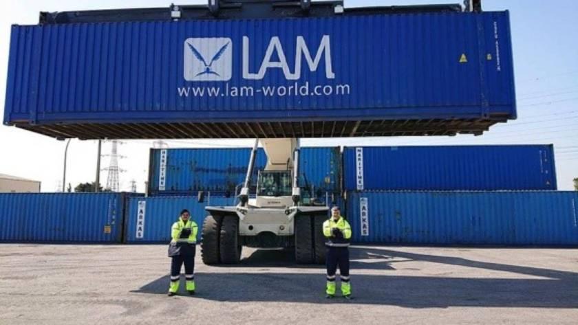 LAM container