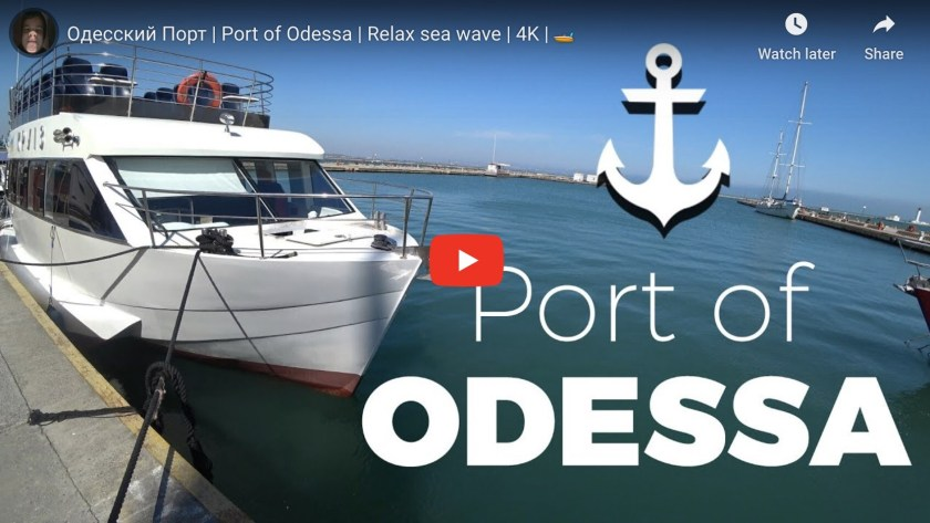 Port of Odesa Video