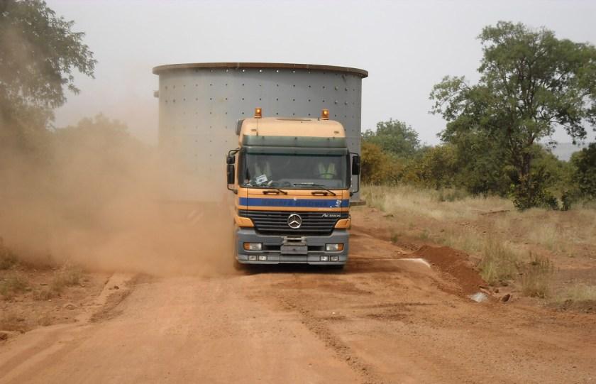 Afrilog trucking image