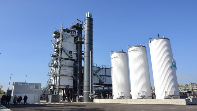 Asphalt plant ex-Italy