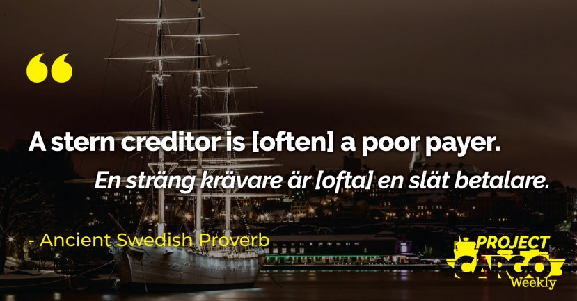 Proverb of the week