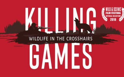 GREAT NEWS ~ KILLING GAMES documentary to premiere & tour with Film Festivals!