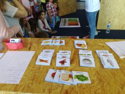 FOIE GRAS project at III Science Fair - Oliveira do Bairro, Portugal
