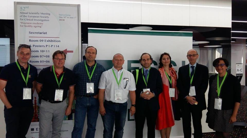 52nd European Society of Clinical Investigation (ESCI), Barcelona, Spain