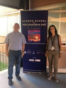 Ines Simoes (ESR1) – Best Presentation PhD Award at Summer School on Mediterranean Diet
