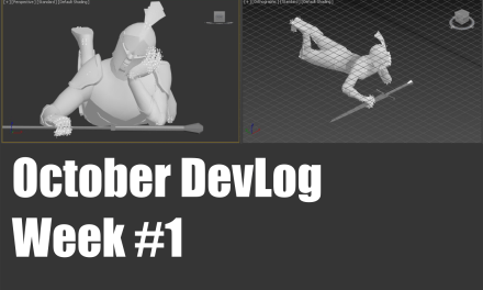 October DevLog: Week 1