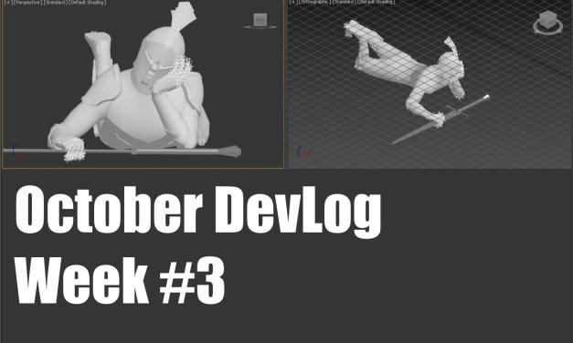 October DevLog: Week 3