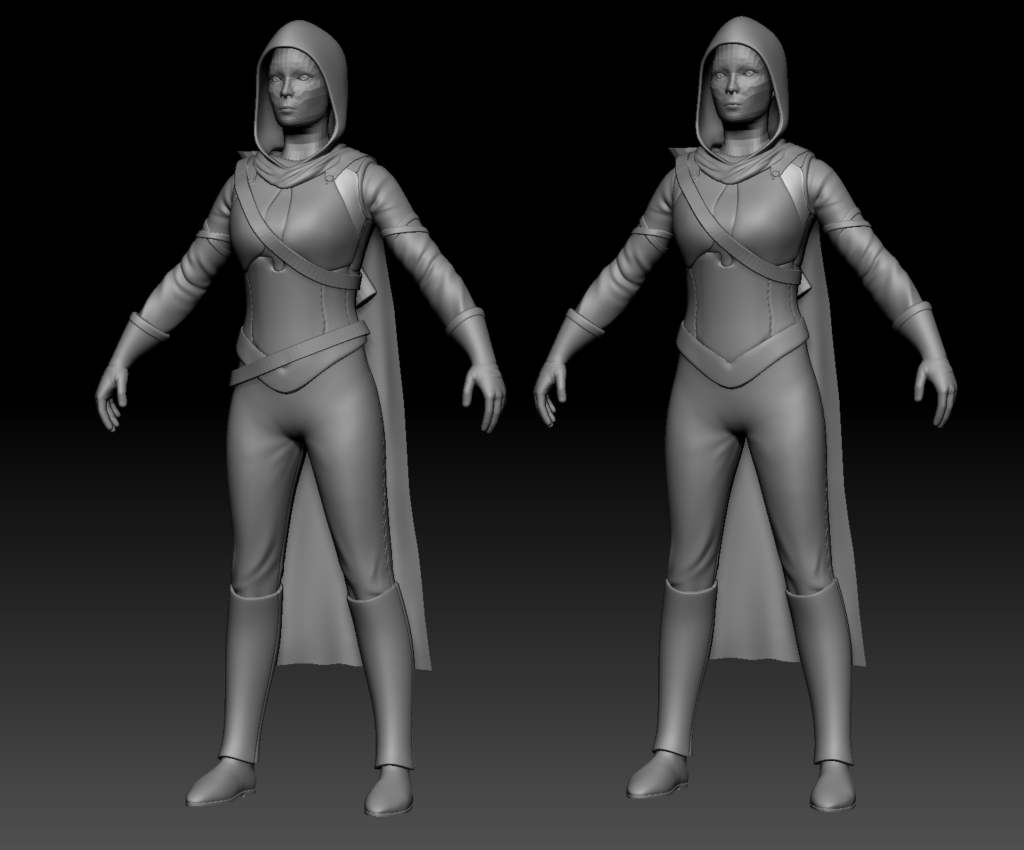 3D models of human Ranger