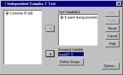 T-test example, Figure 2