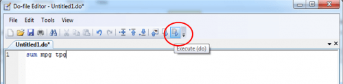 Along with command , comments can also be stored in do file