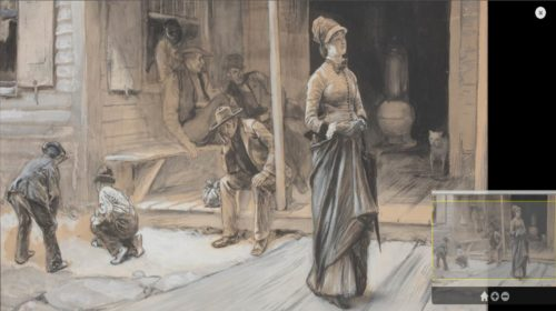 Interpretation of painting