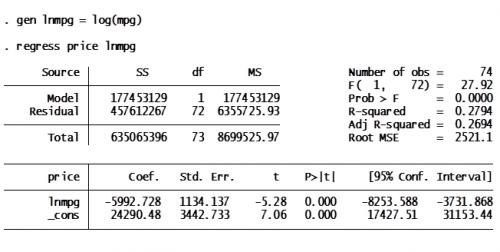 Regression models dissertation
