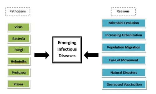 Epidemiology and public health challenge from emerging