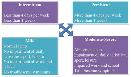 ARIA classification of rhinitis