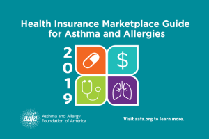 Health insurance guide for asthma and allergies