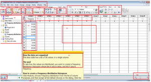 Defining the tools and the interface (GraphPad Software Inc, 2012)