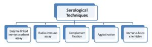 Different types of serological marker analysis techniques